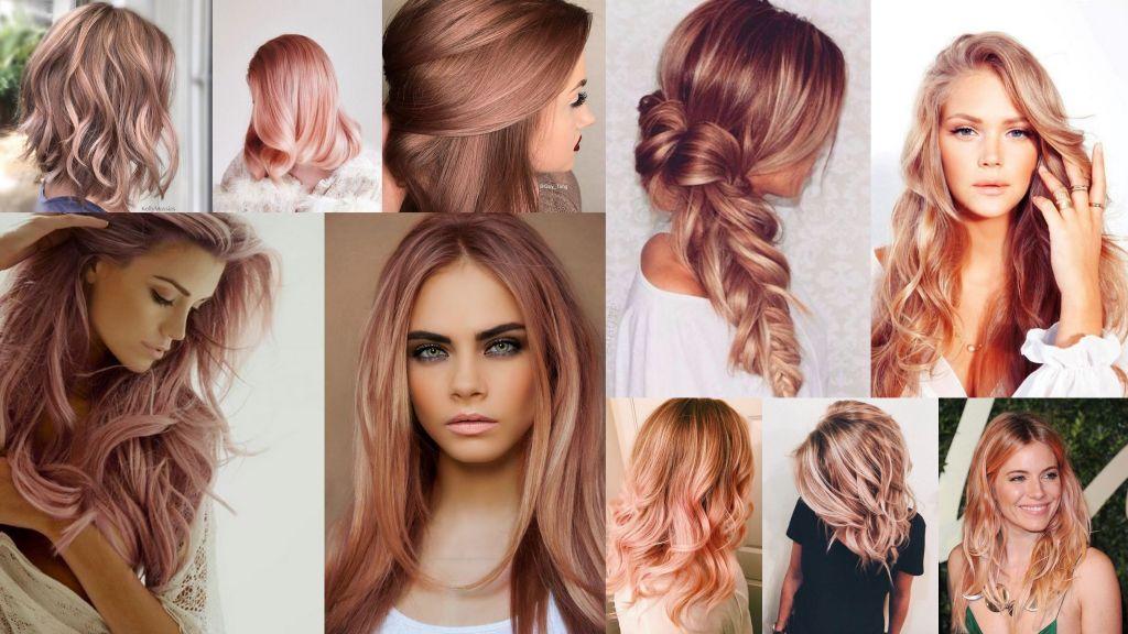Ani ryšavá ani blond – farebný vlasový trend inšpirovaný ružový zlatom
